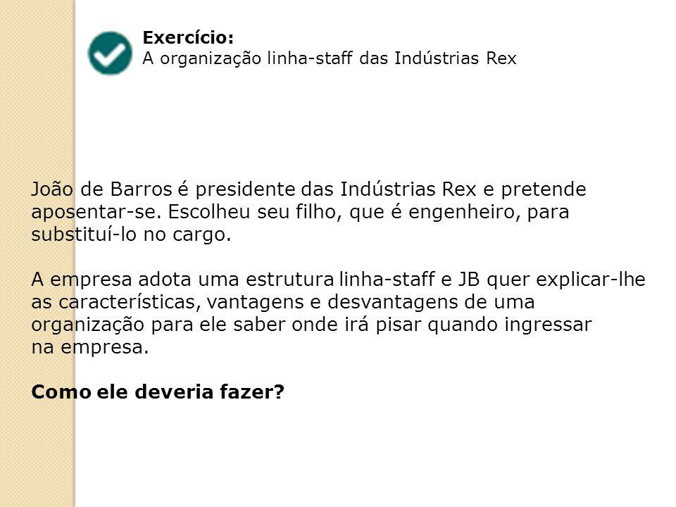João de Barros é presidente das Indústrias Rex e pretende