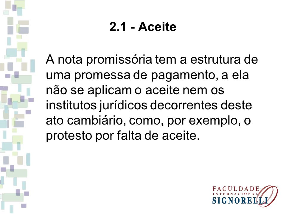 2.1 - Aceite