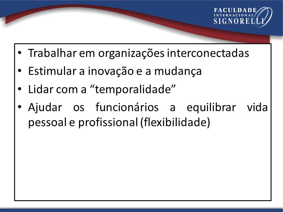 Trabalhar em organizações interconectadas