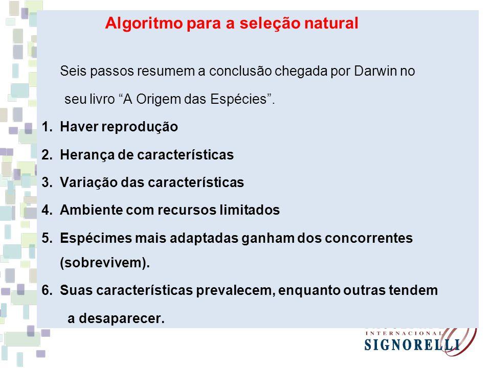 Algoritmo para a seleção natural