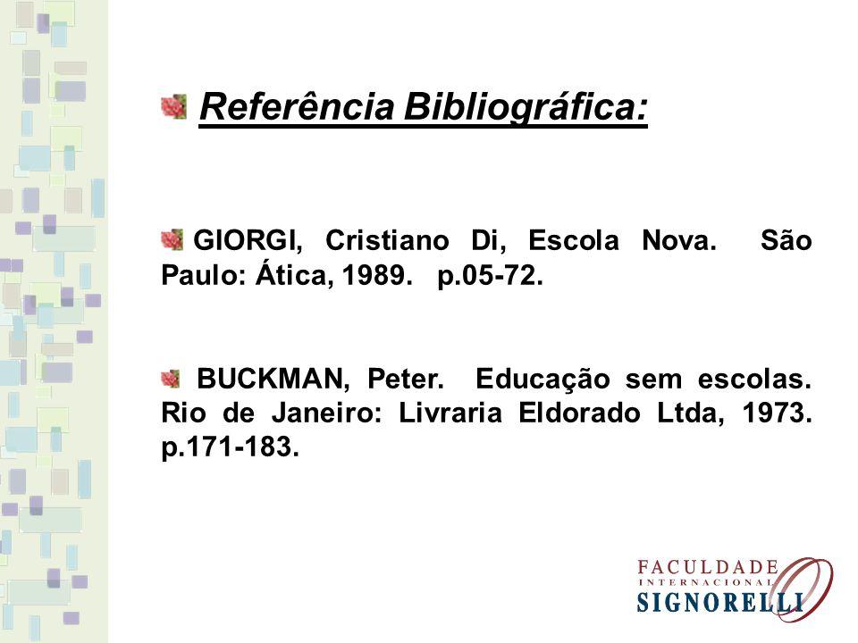 Referência Bibliográfica: