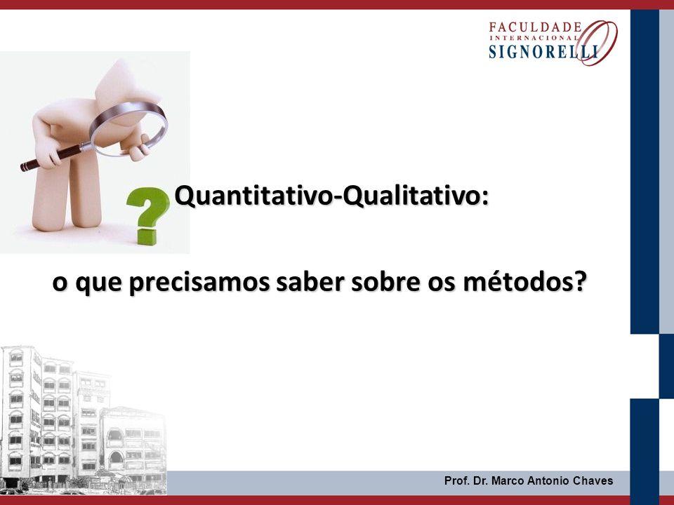 Quantitativo-Qualitativo: