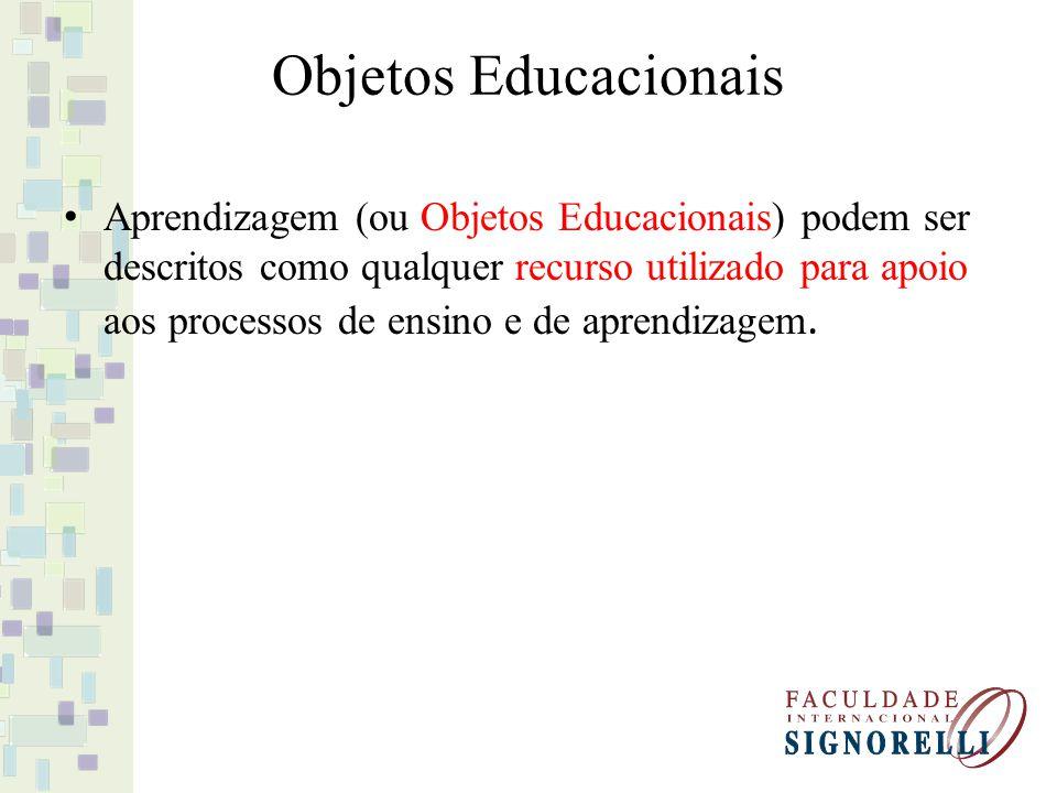 Objetos Educacionais