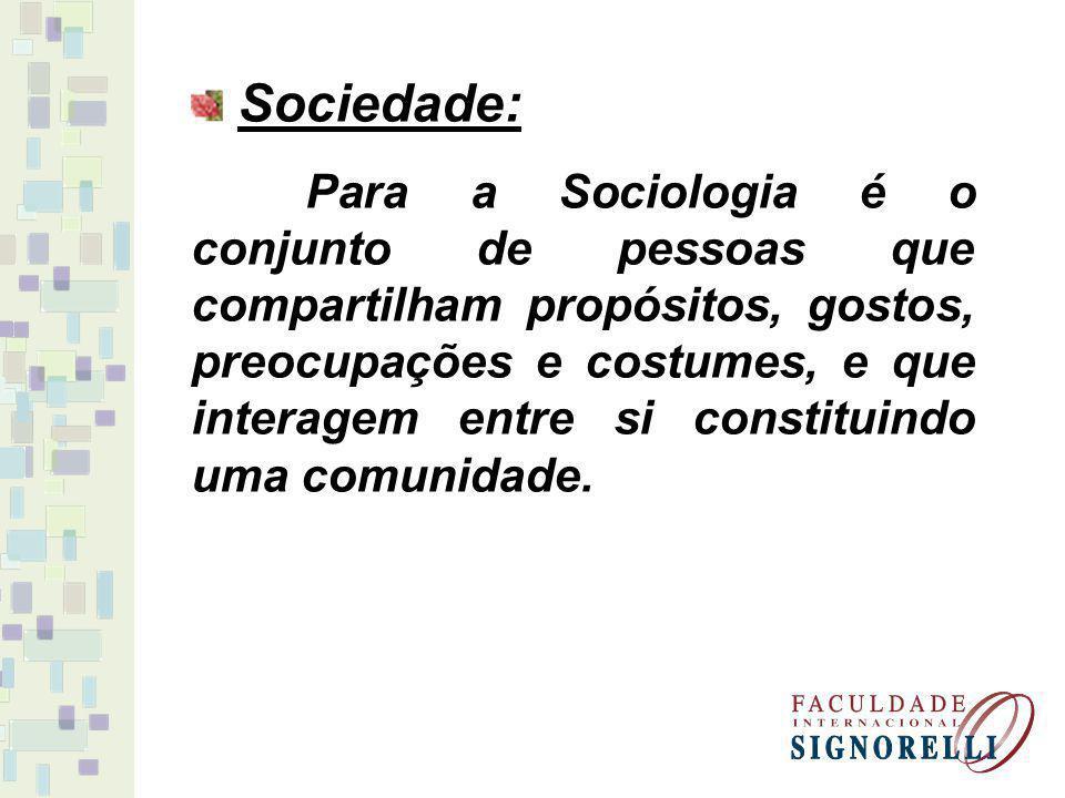 Sociedade: