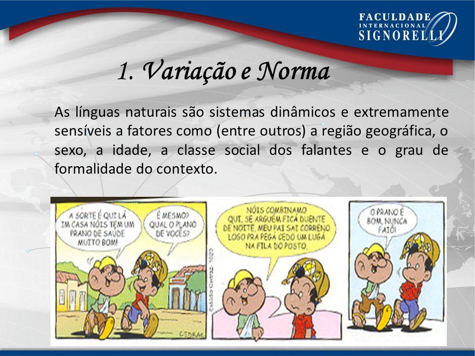 1. Variação e Norma