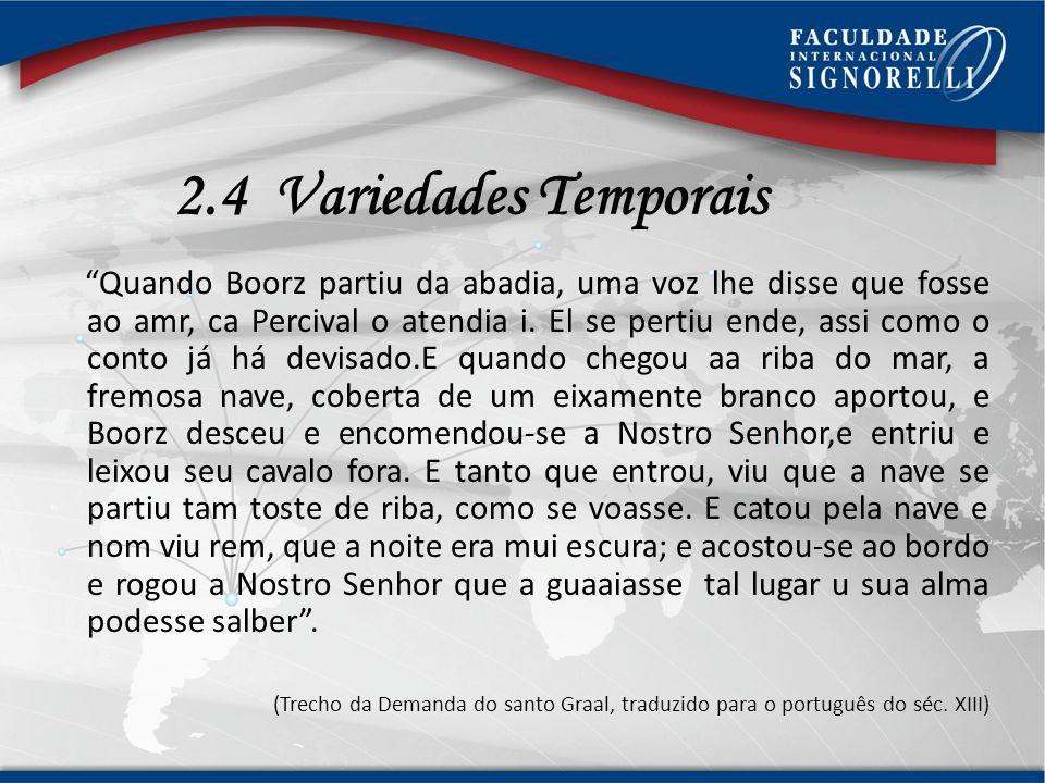 2.4 Variedades Temporais