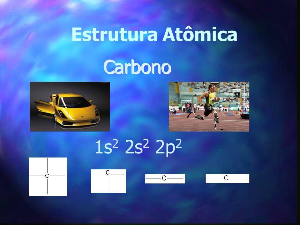 Estrutura Atômica Carbono 1s2 2s2 2p2