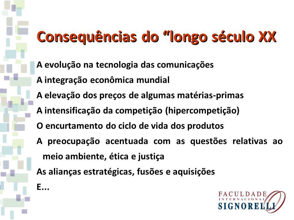 Consequências do longo século XX