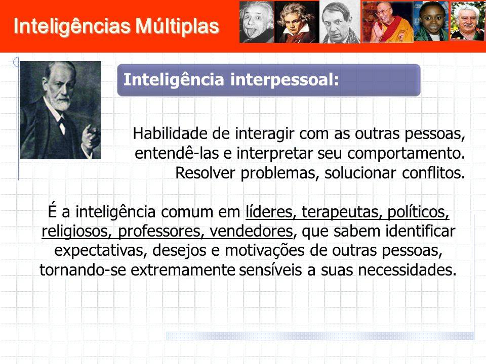 Inteligência interpessoal: