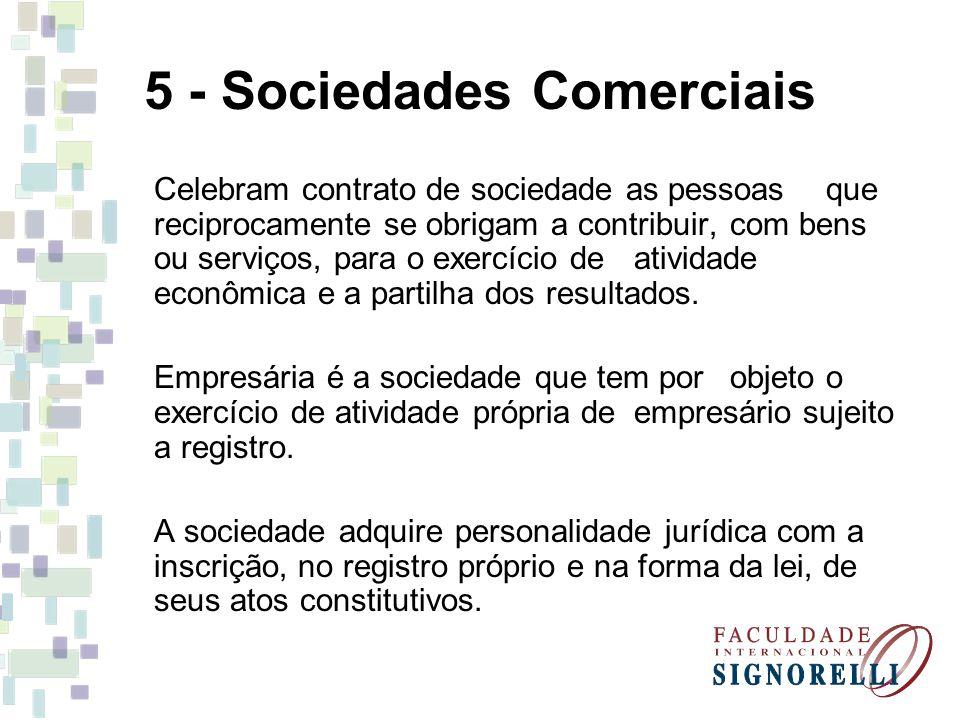 5 - Sociedades Comerciais