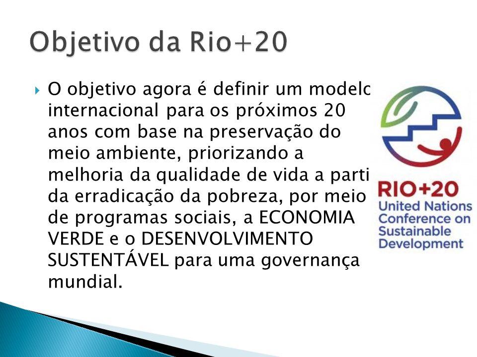 Objetivo da Rio+20