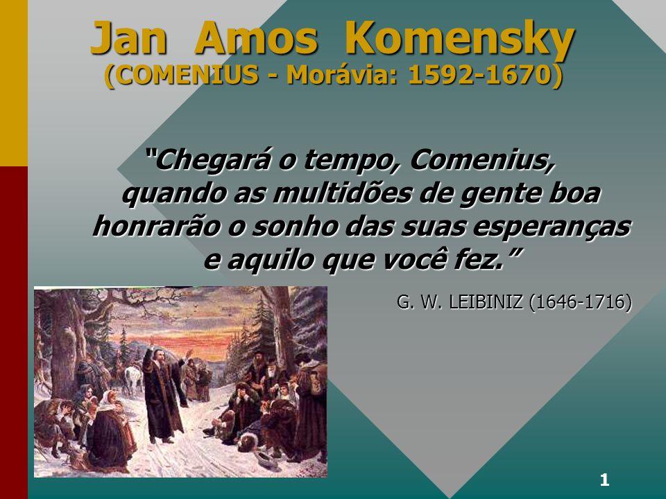 Jan Amos Komensky (COMENIUS - Morávia: 1592-1670)