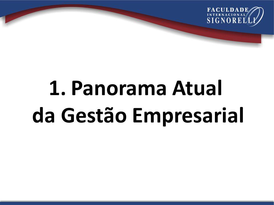 Panorama Atual da Gestão Empresarial