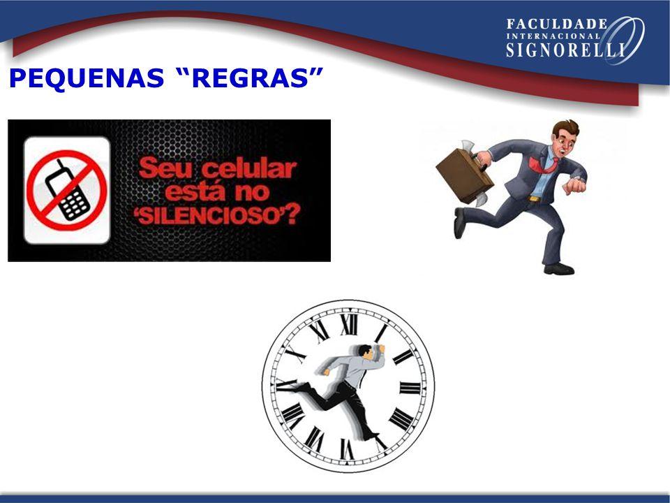 PEQUENAS REGRAS