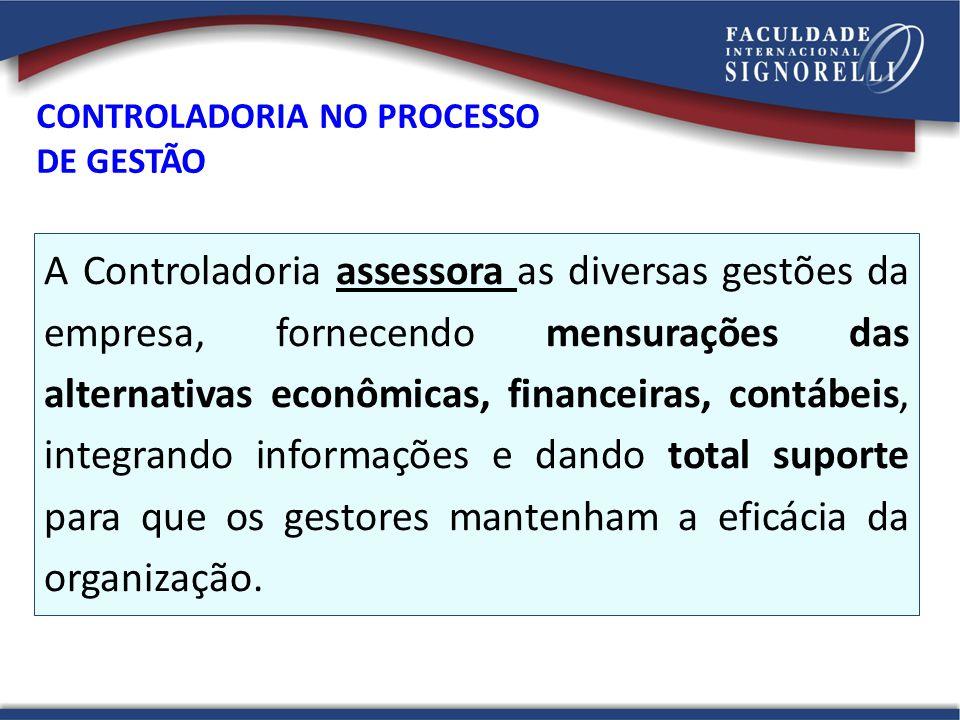 CONTROLADORIA NO PROCESSO DE GESTÃO