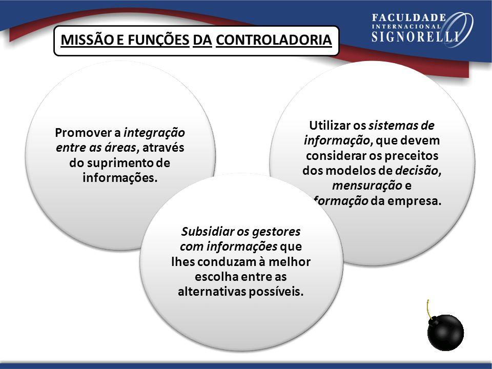 MISSÃO E FUNÇÕES DA CONTROLADORIA