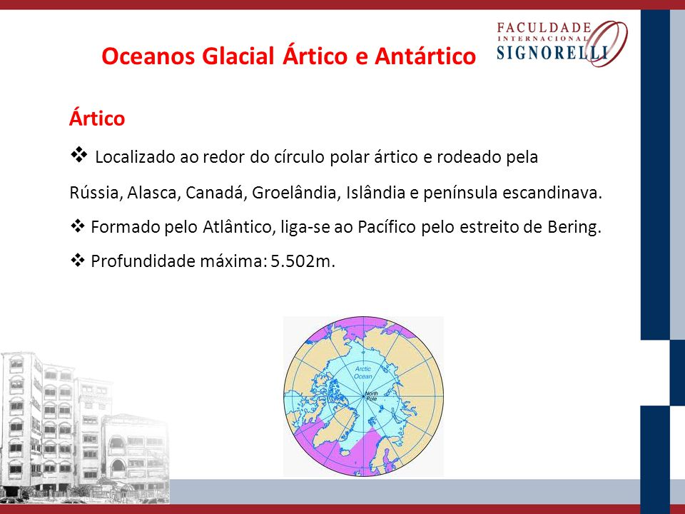 Oceanos Glacial Ártico e Antártico