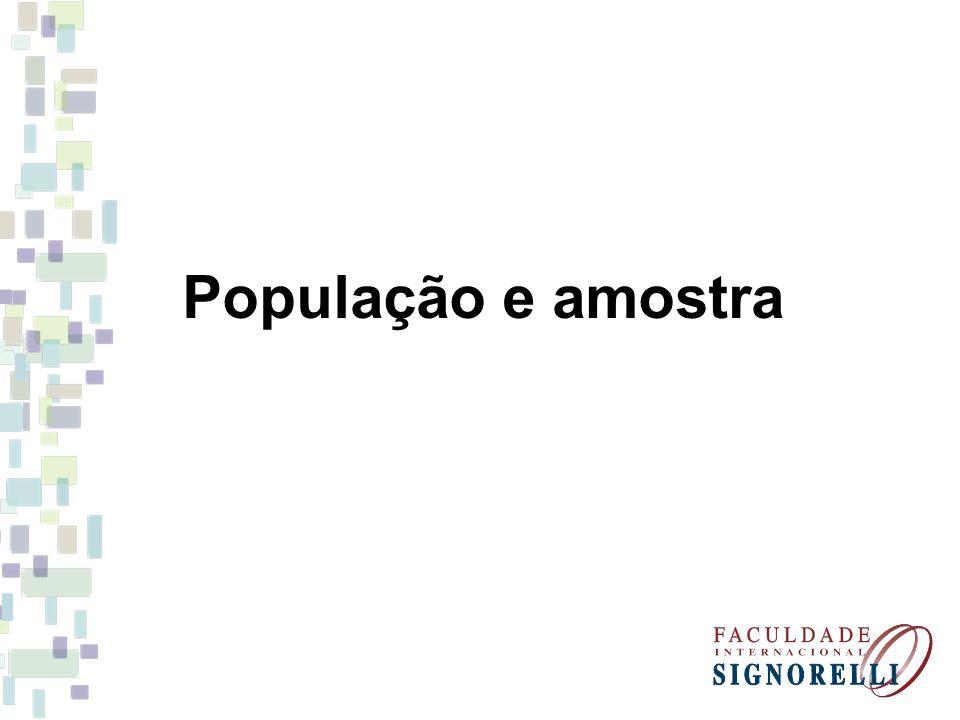 População e amostra