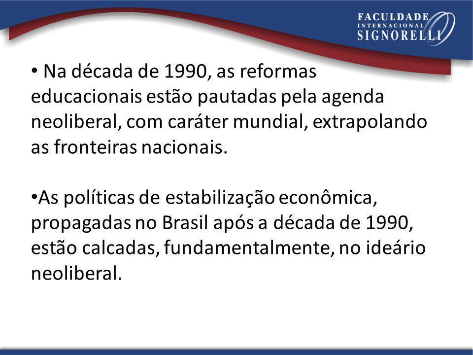 Na década de 1990, as reformas