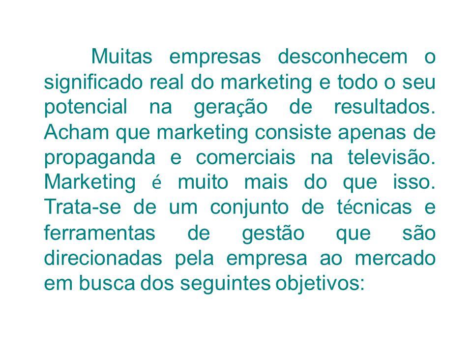 Muitas empresas desconhecem o significado real do marketing e todo o seu potencial na geração de resultados.