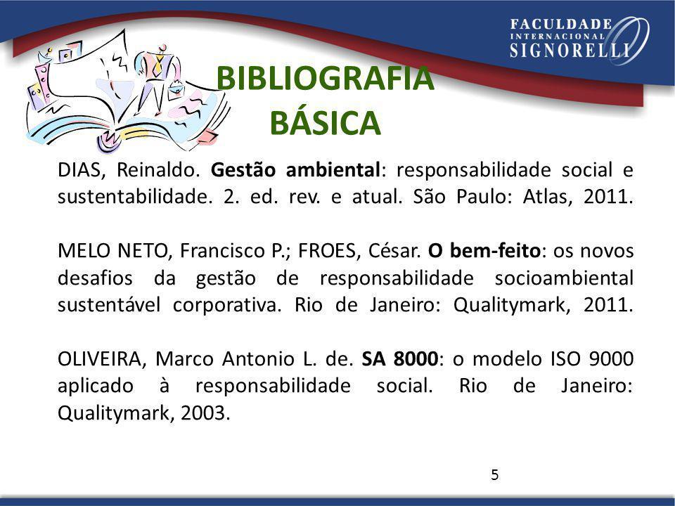 BIBLIOGRAFIA BÁSICA.