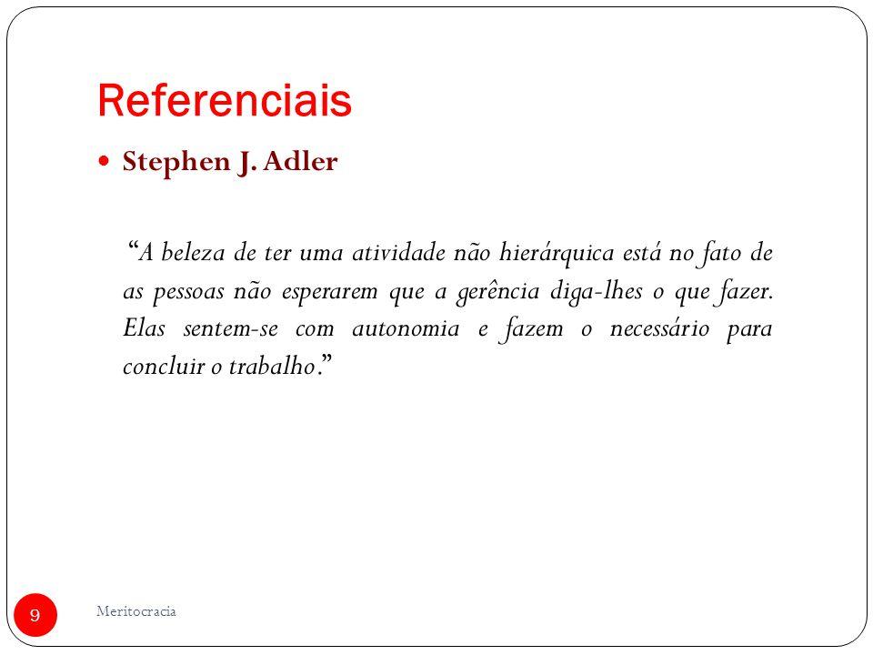 Referenciais Stephen J. Adler