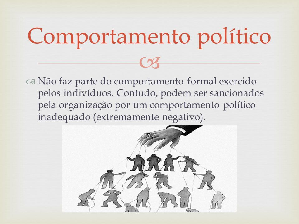 Comportamento político