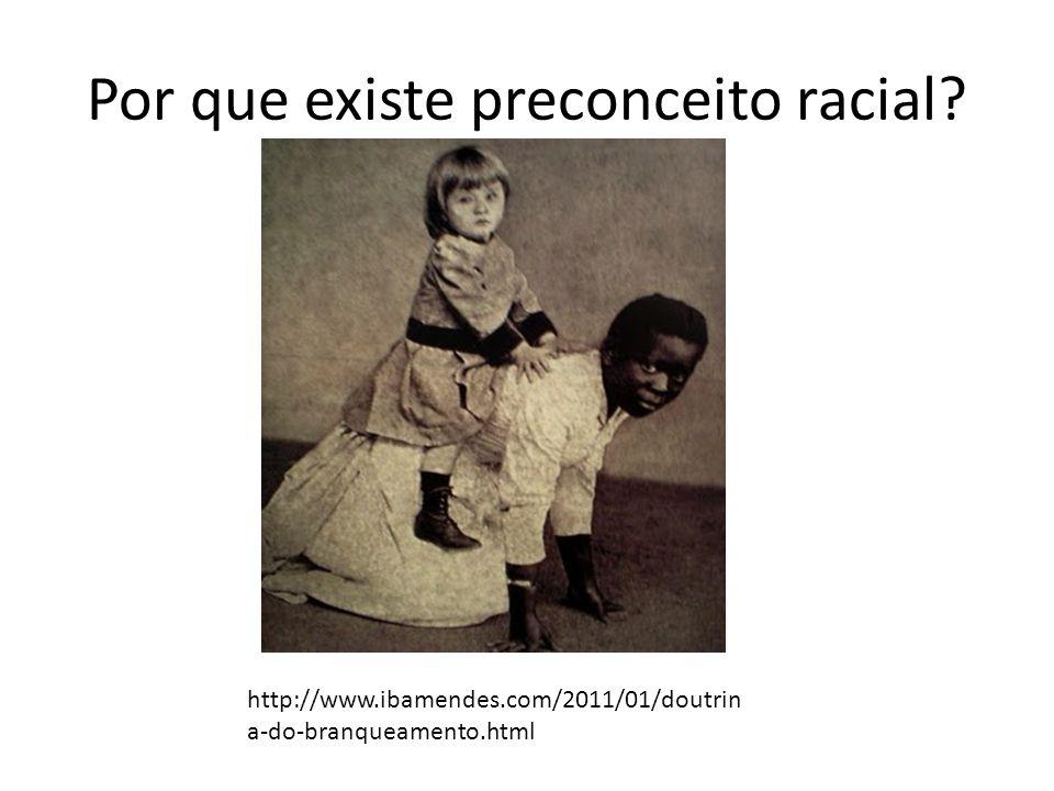 Por que existe preconceito racial