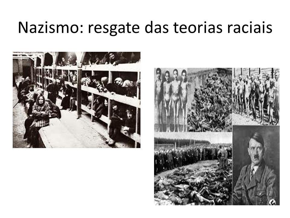 Nazismo: resgate das teorias raciais