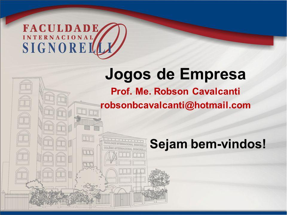 Prof. Me. Robson Cavalcanti