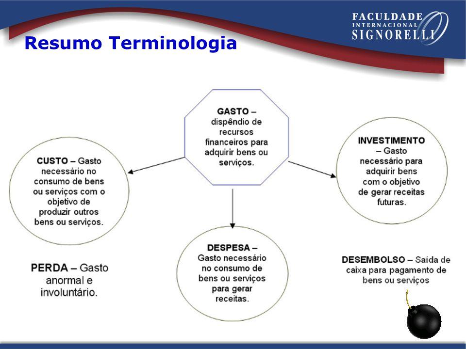 Resumo Terminologia