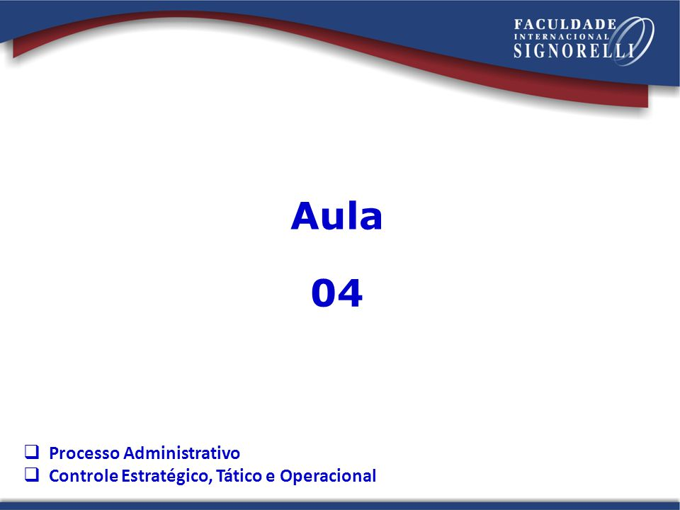 Aula 04 Processo Administrativo