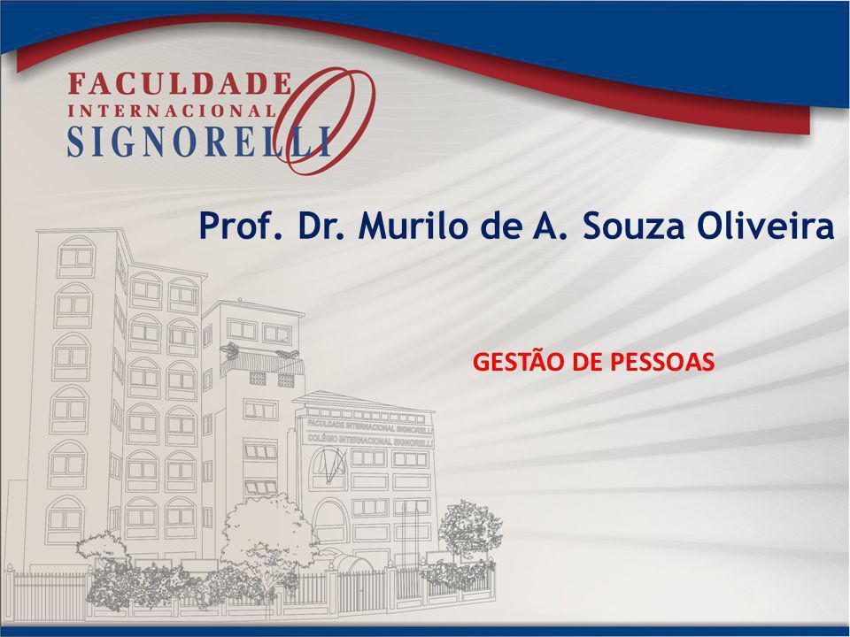Prof. Dr. Murilo de A. Souza Oliveira