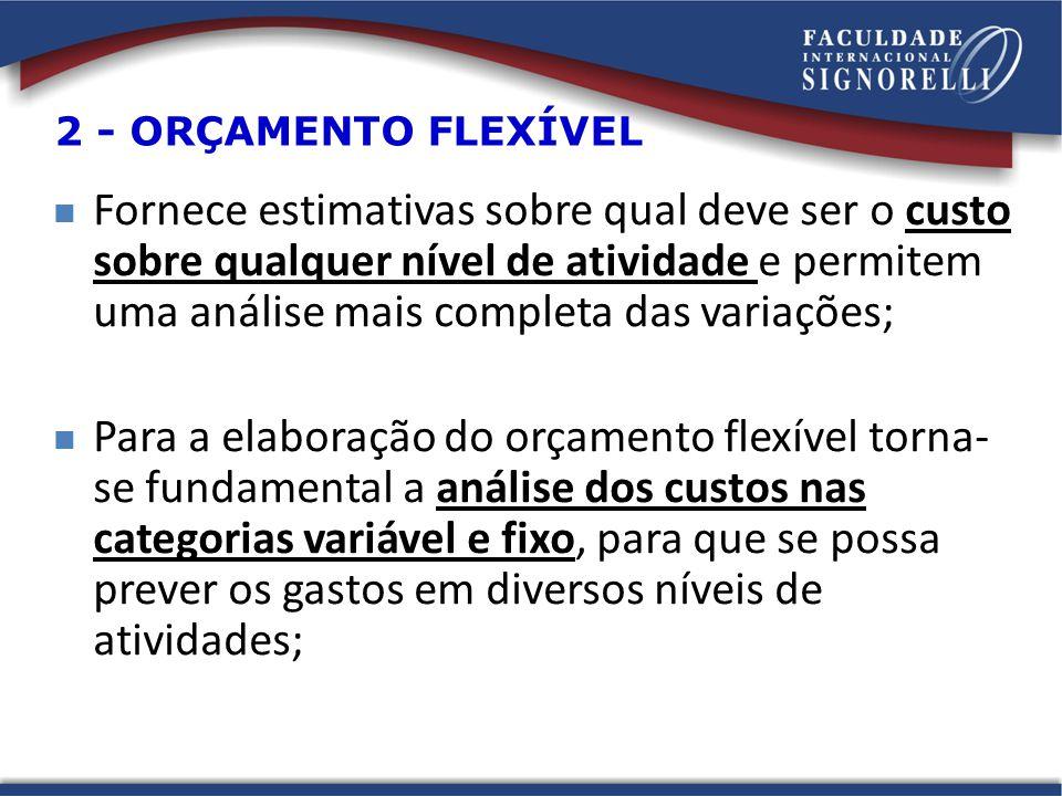 2 - ORÇAMENTO FLEXÍVEL