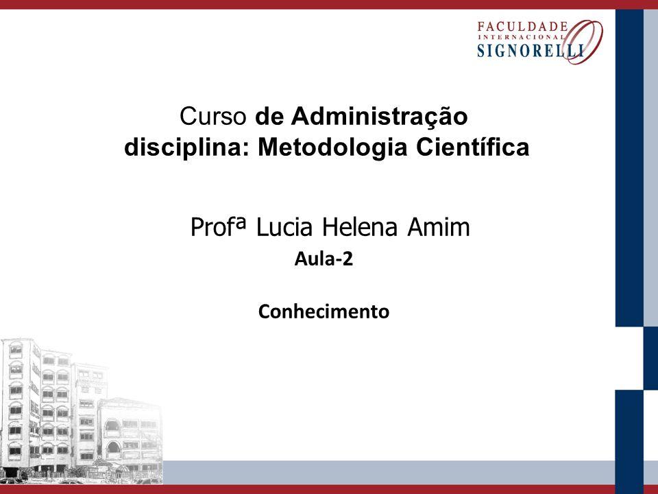 disciplina: Metodologia Científica
