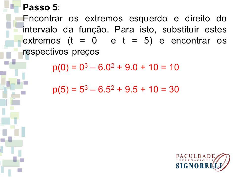 Passo 5: