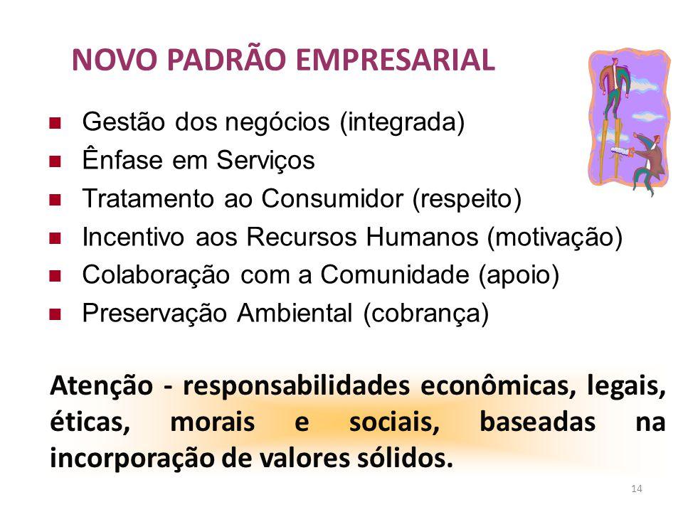 NOVO PADRÃO EMPRESARIAL