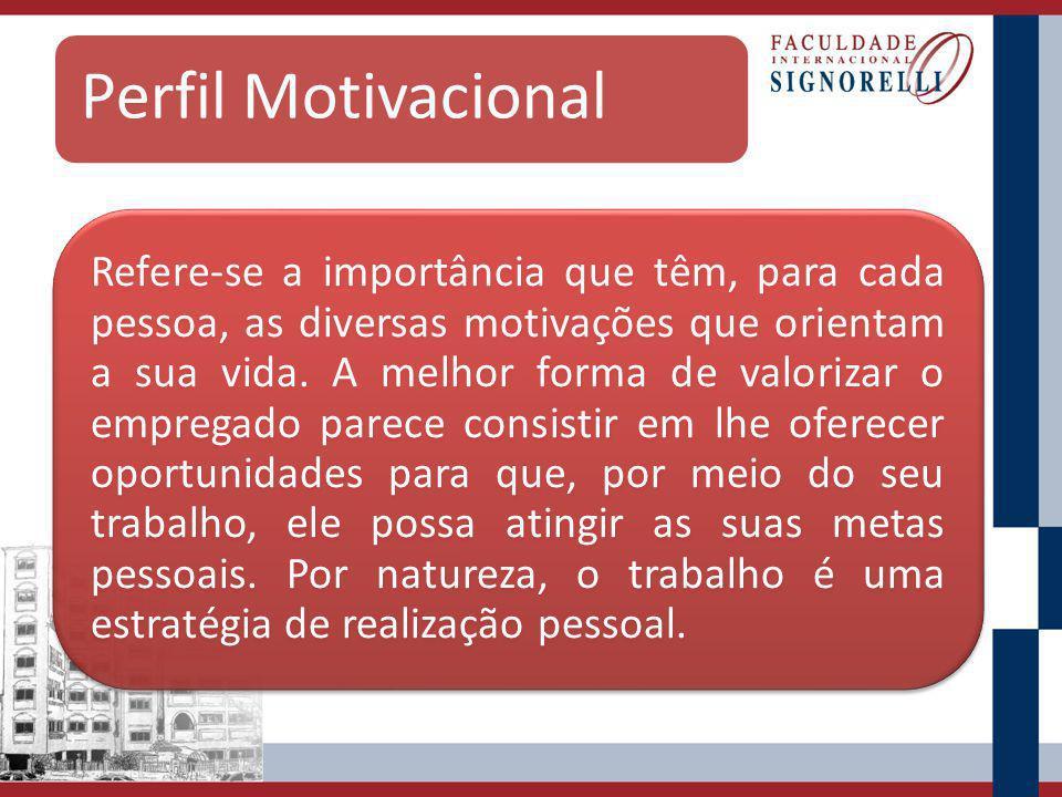 Perfil Motivacional