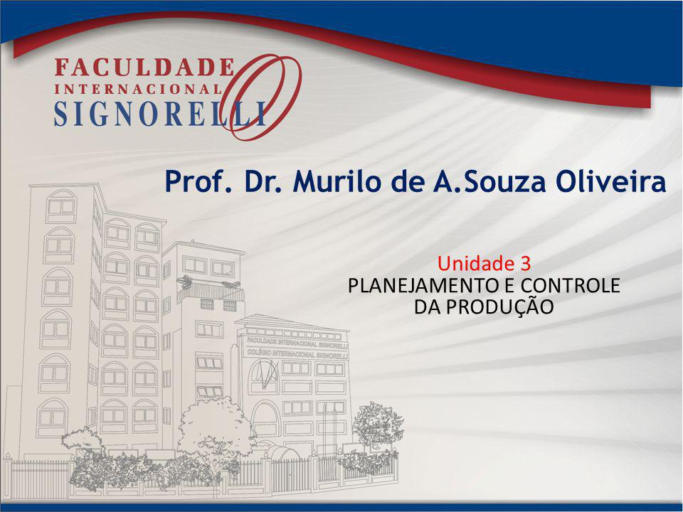 Prof. Dr. Murilo de A.Souza Oliveira