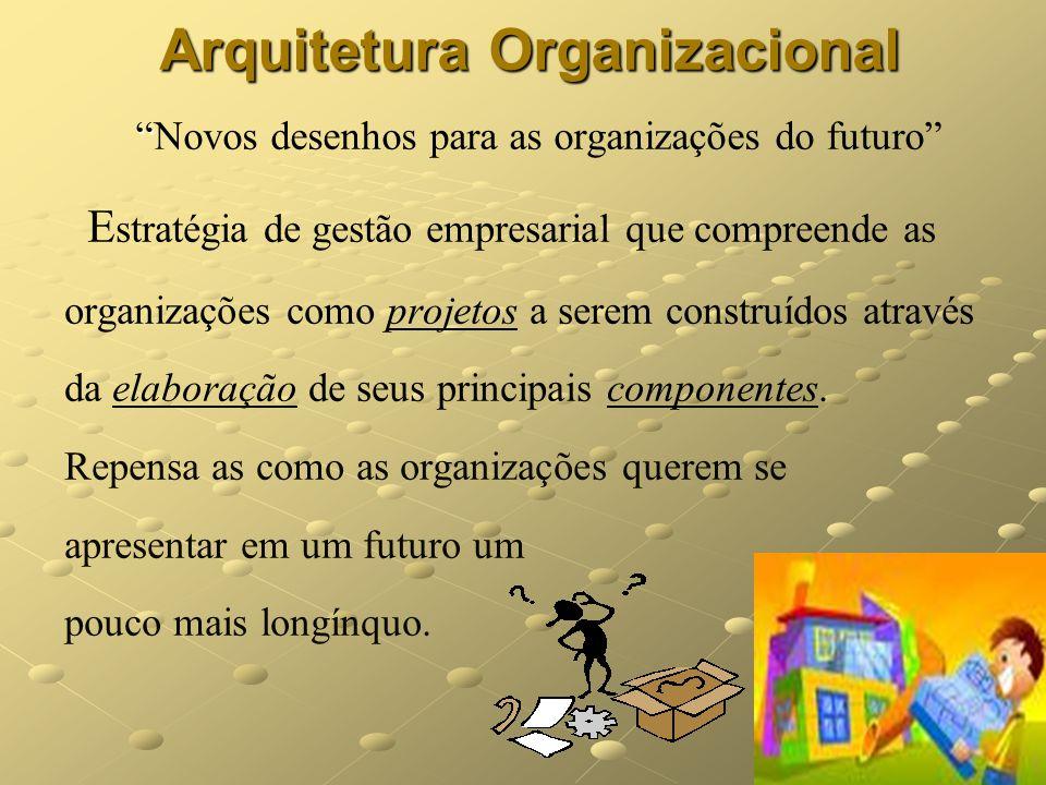 Arquitetura Organizacional Novos desenhos para as organizações do futuro