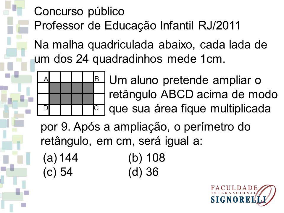 Professor de Educação Infantil RJ/2011