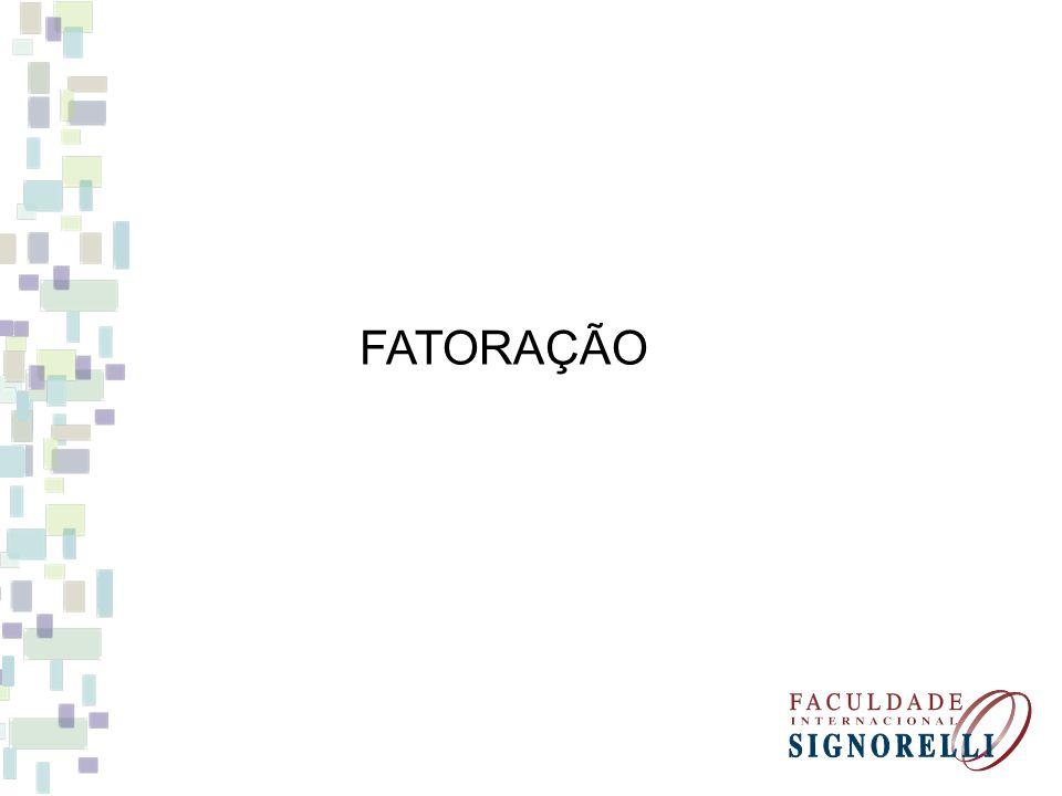 FATORAÇÃO
