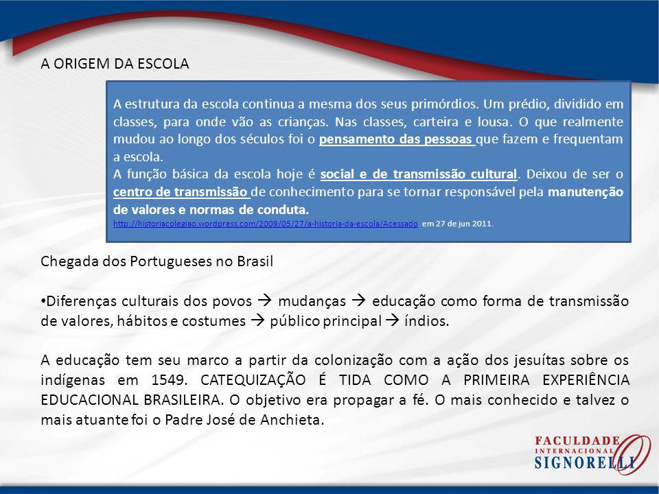 Chegada dos Portugueses no Brasil