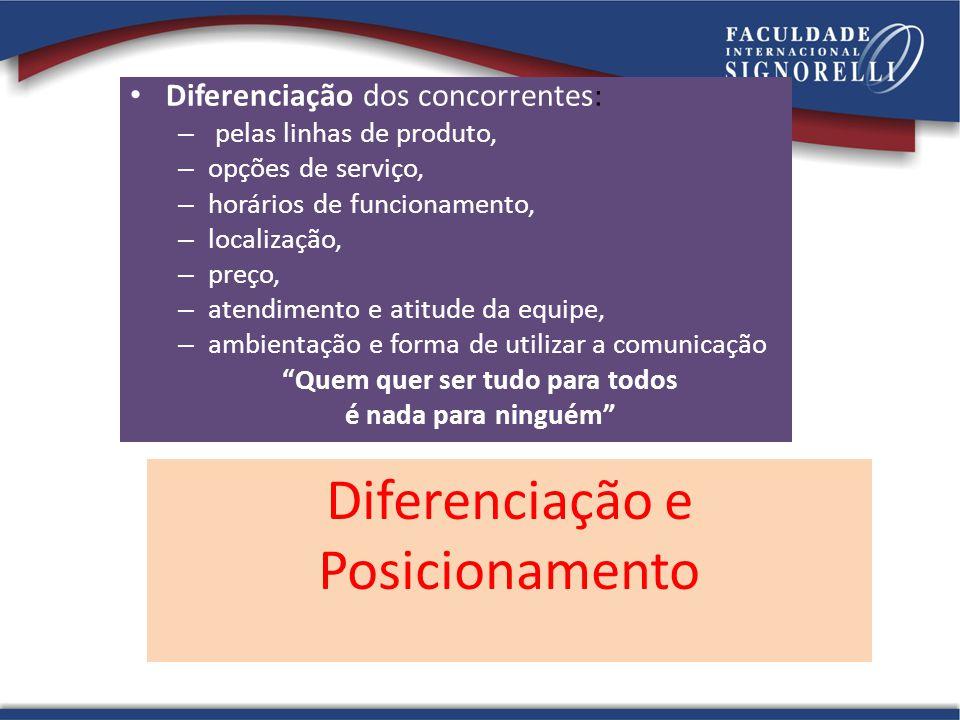 Diferenciação e Posicionamento