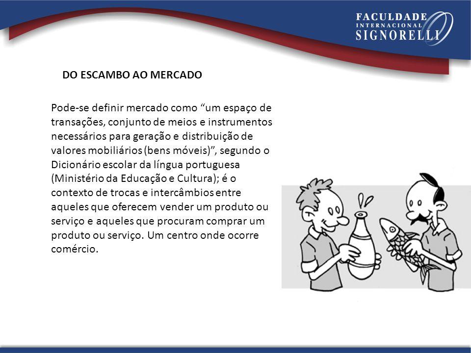 DO ESCAMBO AO MERCADO