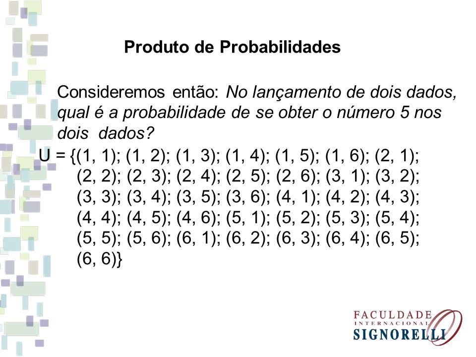 Produto de Probabilidades