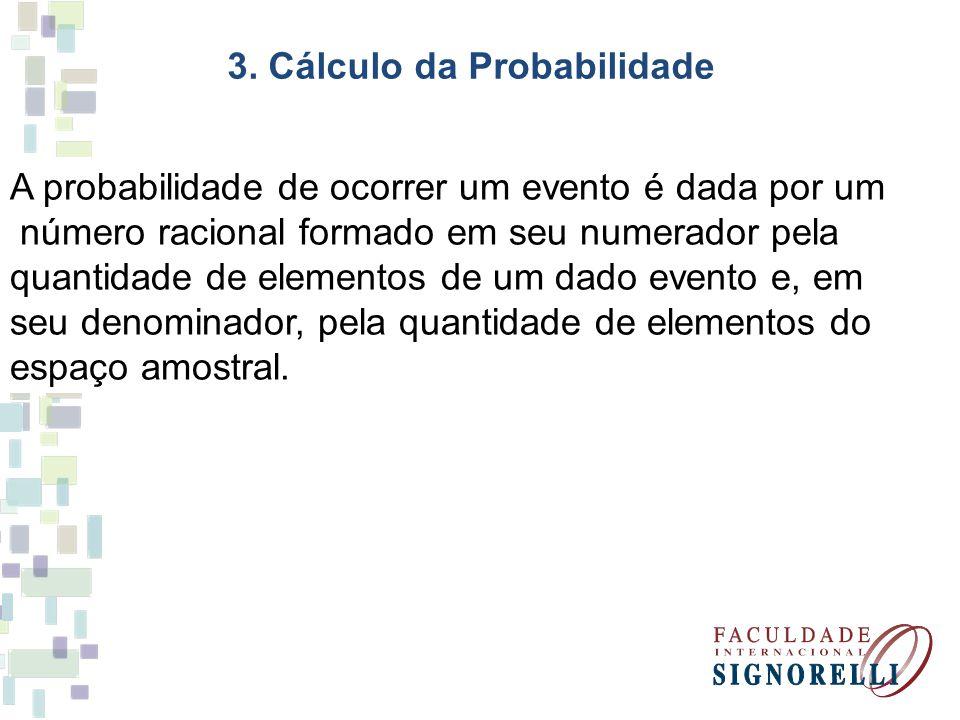 3. Cálculo da Probabilidade