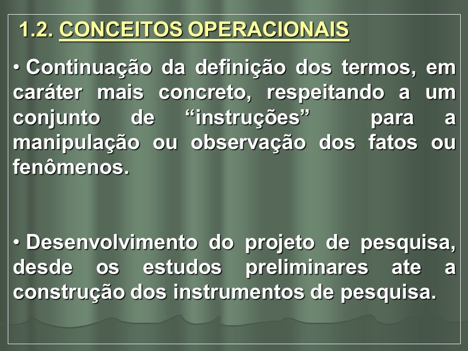 1.2. CONCEITOS OPERACIONAIS