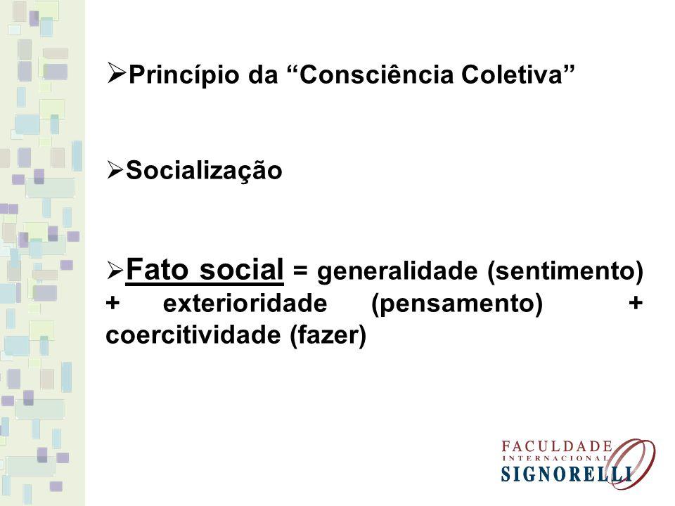 Princípio da Consciência Coletiva