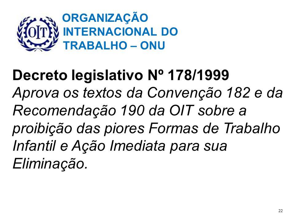 Decreto legislativo Nº 178/1999